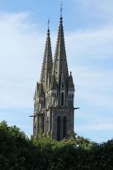 Eglise Notre-Dame de l'Assomption - Français:   Église Notre-Dame-de-l\'Assomption de la Ferté-Macé (France). Flêches.