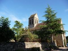 Eglise - Église Saint-Céneri de Saint-Céneri-le-Gérei, dans l'Orne (France)