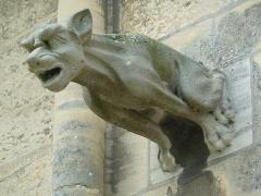 Cathédrale Notre-Dame - Gargouille, extérieur de la Cathédrale Notre-Dame de Bayeux.