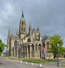 Cathédrale Notre-Dame - English: Bayeux Cathedral, Normandy, France, 2014.