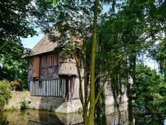 Manoir - Deutsch: Herrenhaus Coupesarte, Coupesarte, Département Calvados, Region Normandie (ehemals Nieder-Normandie), Frankreich