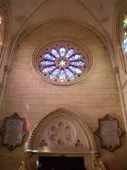 Basilique - Basilique Notre-Dame de la Délivrande, rosace