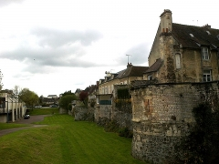 Château fort, actuellement collège -  Calvados Falaise Muraille 26 Rue Georges Clemenceau 23042016