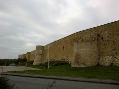 Château fort, actuellement collège -  Calvados Falaise Place Chateau 25012015