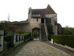 Château fort, actuellement collège -  Calvados Falaise Porte Des Cordeliers 23042016