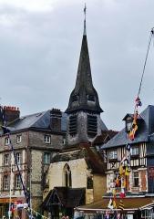 Ancienne église Saint-Etienne, actuellement musée - Deutsch: Marinemuseum am Alten Bassin, Honfleur, Département Calvados, Region Normandie (ehemals Nieder-Normandie), Frankreich