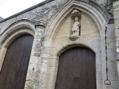 Ancienne abbaye Sainte-Marie - Français:   Portail de l\'abbaye Sainte Marie à Longues sur Mer