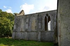 Ancienne abbaye Sainte-Marie - Français:   Longues-sur-Mer (14)