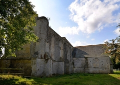 Ancienne abbaye Sainte-Marie - Français:   Longues-sur-Mer (Calvados)