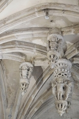 Eglise Saint-Michel - Deutsch: Kirche Saint-Michel in Pont-l'Évêque im Département Calvados (Frankreich)