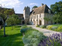 Restes du prieuré de Saint-Gabriel, puis Centre d'apprentissage horticole -  Ancien prieuré Saint-Gabriel (Calvados, France), transformé en école d'horticulture