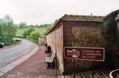 Château, actuellement annexe du musée intercommunal de Lisieux - Nederlands: kasteel de Saint-Germain-de-Livet