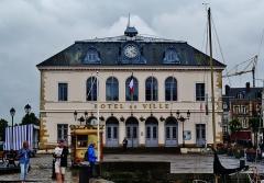 Hôtel de ville - Deutsch: Rathaus am Alten Bassin, Honfleur, Département Calvados, Region Normandie (ehemals Nieder-Normandie), Frankreich