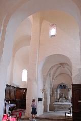 Eglise Saint-Vorles - Deutsch: St-Vorles de Châtillon-s-S, Rosenkranzkapelle aus Querhaus