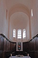 Eglise Saint-Vorles - Deutsch: St-Vorles de Châtillon-s-S, Chor