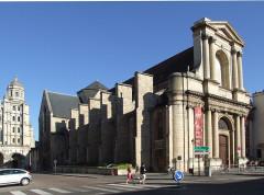 Eglise Saint-Etienne - English: Dijon, Burgundy, France