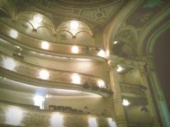 Théâtre - Français:   Intérieur du grand théâtre de Dijon