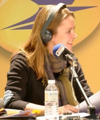 Théâtre - Français:   Charline Vanhoenacker lors de l\'enregistrement public de l\'émission \