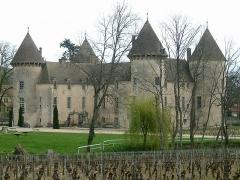 Château et petit château - Français:   Château de Savigny-lès-Beaune, Bourgogne, FRANCE
