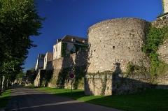 Remparts romains -  Roman walls, Autun