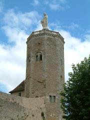 Remparts romains -  Tour des Ursulines, Autun, Bourgogne, FRANCE