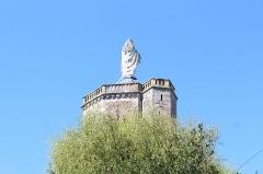 Remparts romains - Tour des Ursulines, Autun.