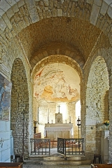 Eglise - Deutsch: St-Bathélémy, Farges, Vierung und Chor