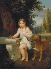 Couvent des Ursulines - Italiano: Li ho colti per mio papà, olio su tela, 129.5 x 96.5 cm, Mâcon, Musée des Ursulines