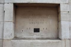 Hospice de la Charité - Français:   Trône pour les pauvres de la Charité de l\'hospice de la Charité à Mâcon.