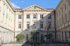 Hôtel de ville - Français:   Hôtel de ville de Mâcon vu depuis la place Saint-Pierre.