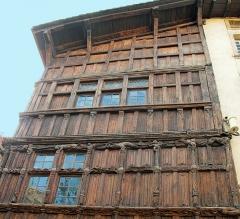 Immeuble dit La maison de Bois - Maison du 15 ème siècle dite \