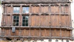 Immeuble dit La maison de Bois - Français:   Mâcon - Maison de Bois - Détail