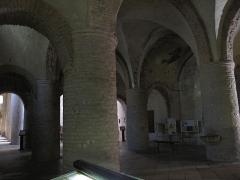 Ancienne abbaye Saint-Philibert - English: Narthex of the Saint-Philibert abbey in Tournus (Saône-et-Loire, France).