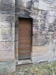 Eglise de la Madeleine - English: Small door on the side of the church Sainte-Madeleine in Tournus, Saône-et-Loire, France