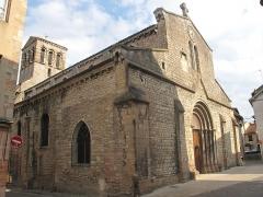 Eglise de la Madeleine - English: Church Sainte-Madeleine in Tournus, Saône-et-Loire, France