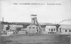Mine Hottinger - Le puits Saint-Charles (Houillères d'Épinac, France).
