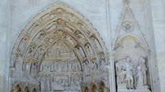 Ancienne cathédrale Saint-Etienne - Portail de Saint-Jean-Baptiste (Cathédrale Saint-Étienne d'Auxerre)
