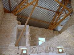 Château de Maulnes -  Château de Maulnes, Cruzy-le-Châtel, Yonne   - la grande salle