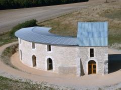 Château de Maulnes -  Château de Maulnes, Cruzy-le-Châtel, Yonne   - le bâtiment des communs