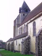 Eglise -  Eglise de Dixmont (Yonne -France)
