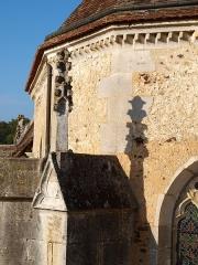 Eglise Saint-Prix - Français:   Saints-en-Puisaye (Yonne, France); l\'église (extérieur)