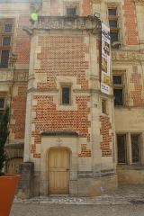 Ancien archevêché ou ancien palais archiépiscopal - Français:   Palais archiépiscopal de Sens.