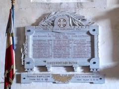 Eglise Saint-Julien - Français:   Église Saint-Julien de Thury (Yonne, France); mobilier de culte.