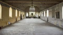 Hôpital - Nederlands: Godshuis van Tonnerre - de voormalige ziekenzaal