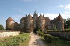 Château de Ratilly -  Infos zum Schloss gibt es in der Wikipedia.