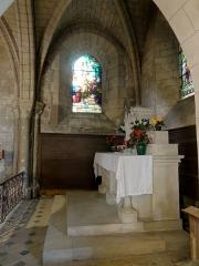 Eglise Saint-Pierre - Français:   Chapelle nord, 2e travée, vue vers le nord.