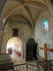 Eglise Saint-Pierre - Français:   Chapelle nord, vue vers l\'ouest.