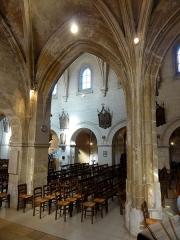 Eglise Saint-Pierre - Français:   Chapelle sud, 1ère travée, vue vers le nord.