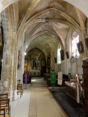 Eglise Saint-Pierre - Français:   Chapelle sud, vue vers l\'est.