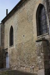 Eglise - Français:   Bresles - Eglise Saint-Gervais-Saint-Protais, mur Sud de la nef